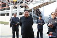 金正恩氏20日ぶり公開活動 肥料工場完工式に出席