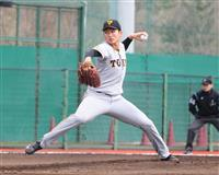 19歳横川投手が阿部2軍監督に投球 巨人の2年目左腕