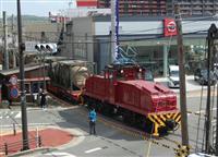 さよなら5両の「炭鉱電車」 三井化学大牟田工場、専用線廃止で「引退」