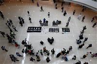 香港、新型コロナは鈍化 「政治的ウイルス」の蔓延警戒