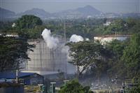 韓国系化学工場でガス漏れ、11人死亡 インド南部