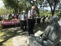 台南で八田與一慰霊祭 ゆかりの地にマスク100万枚などを寄付
