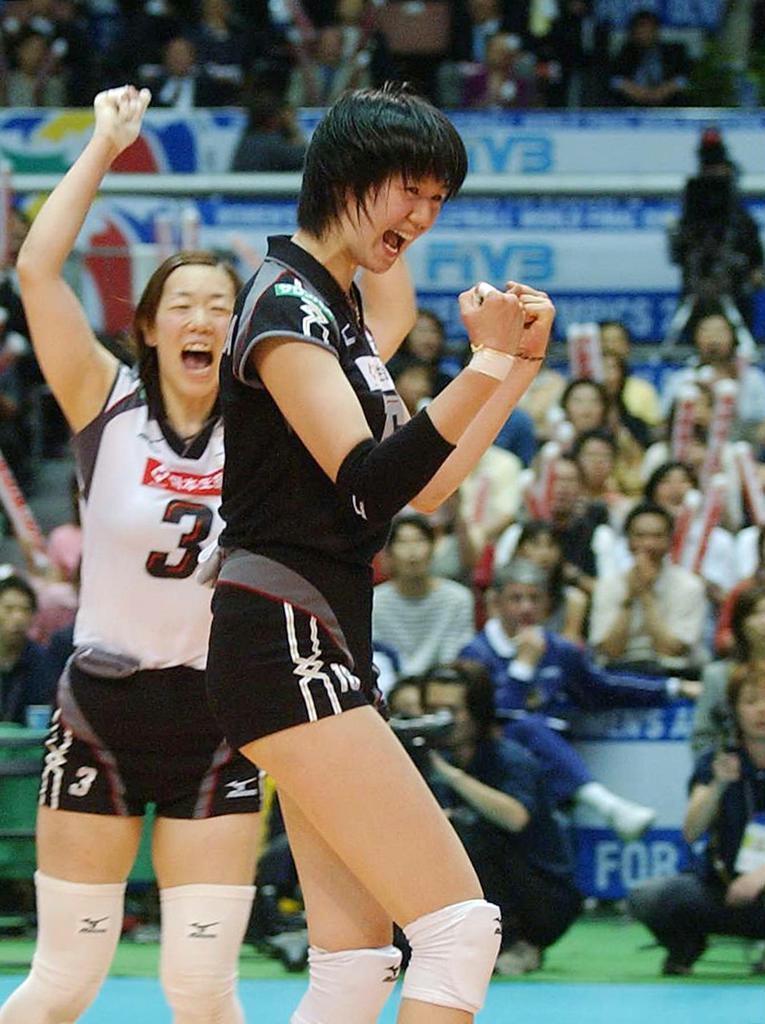 バレー 代表 女子 日本