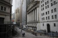 NY株反落、109ドル安 韓国の集団感染を嫌気