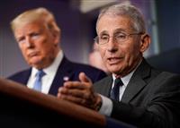 米国の感染症権威、経済活動再開「深刻な結果に」 米上院公聴会で