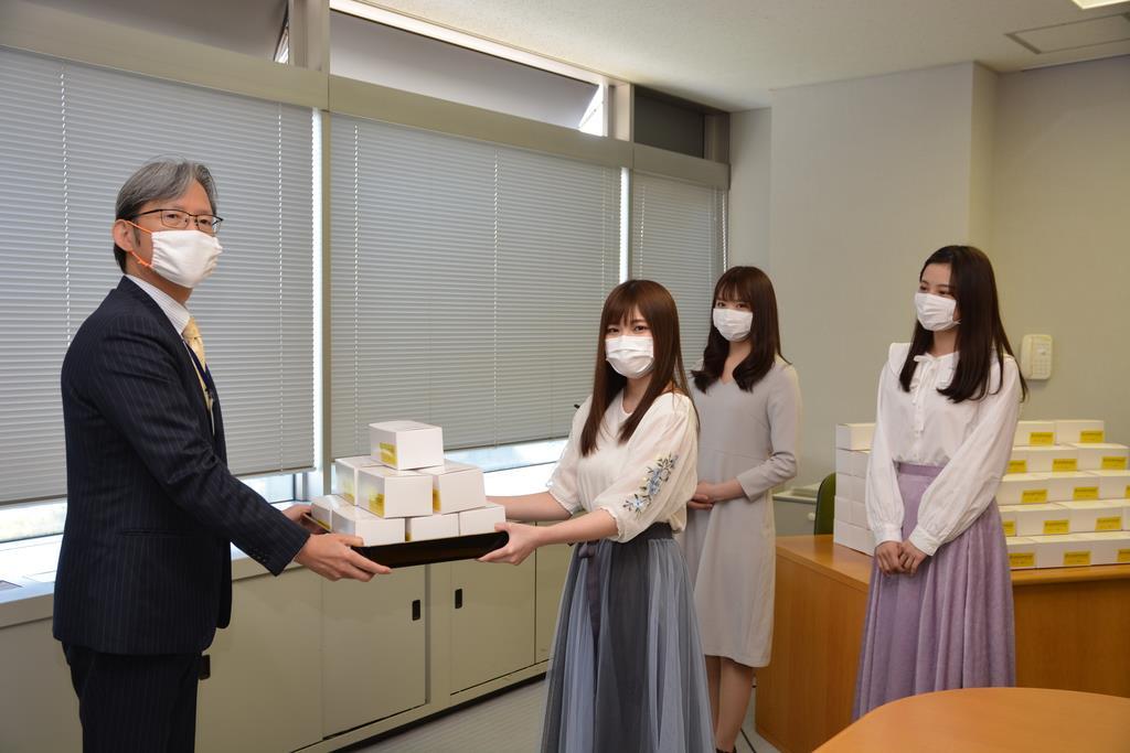 NGT48、新型コロナ対策支援 新潟市にマスク1万枚