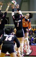 【話の肖像画】元バレーボール女子日本代表・栗原恵(35)(6)高校では「笑う練習」で苦…