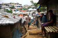ロヒンギャ難民キャンプで感染確認、拡大も懸念 バングラ南東部