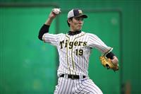 阪神藤浪が甲子園練習で65球「野球ができてうれしい」