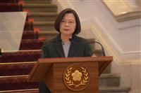 台湾の総統 2期目の就任式前に中国が圧力