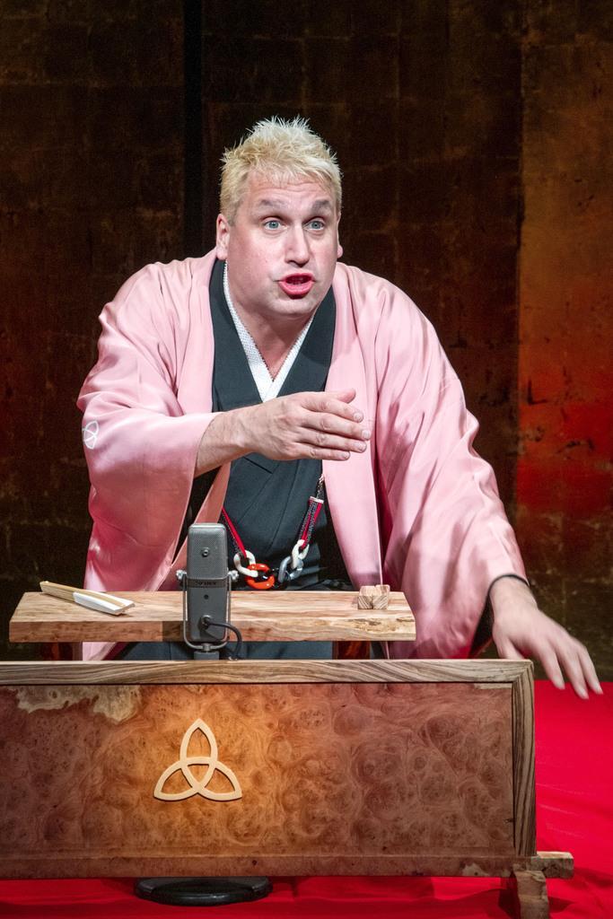 落語家の桂三輝さん受賞せず 米オフブロードウェー公演