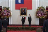 中国でNHKニュース中断 台湾総統就任式で