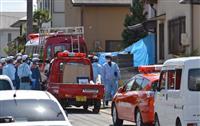 奈良の5人死亡火災で現場検証