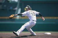 阪神藤浪がシート打撃で好投 打者5人を相手に4奪三振