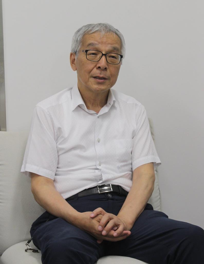 「なぜ息子の命が奪われないといけなかったのか、納得する理由が知りたい」と話す土師守さん=神戸市内