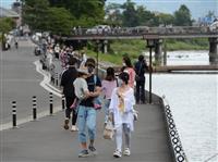 3月は9割減 京都の外国人宿泊客