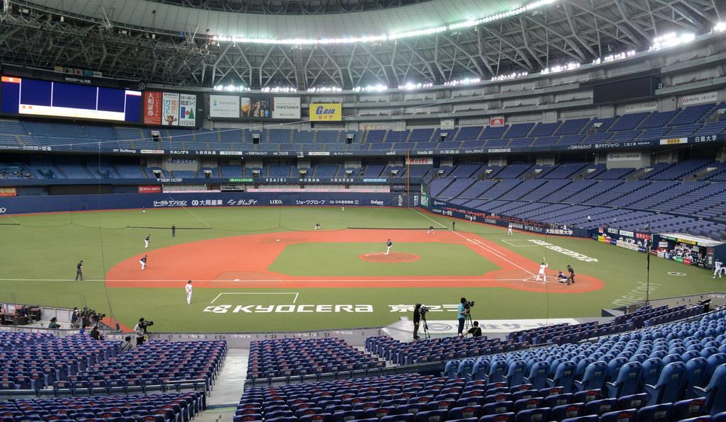 プロ野球の開幕日は6月19日に決定。当面無観客で実施される
