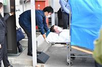 青葉容疑者、やけど考慮して手錠せず 京都府警