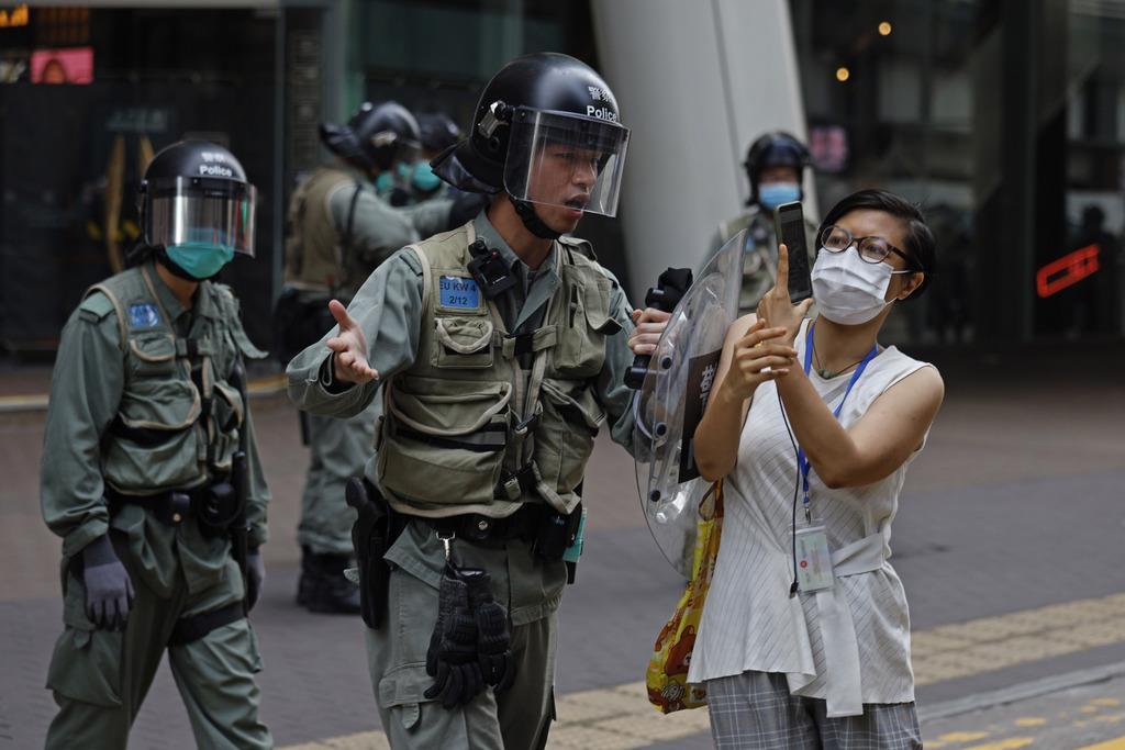 【動画】ポンペオ国務長官、香港で「高度の自治維持されず」 優…