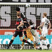 遠藤が初ゴール 逆転勝ち貢献 サッカーのドイツ2部