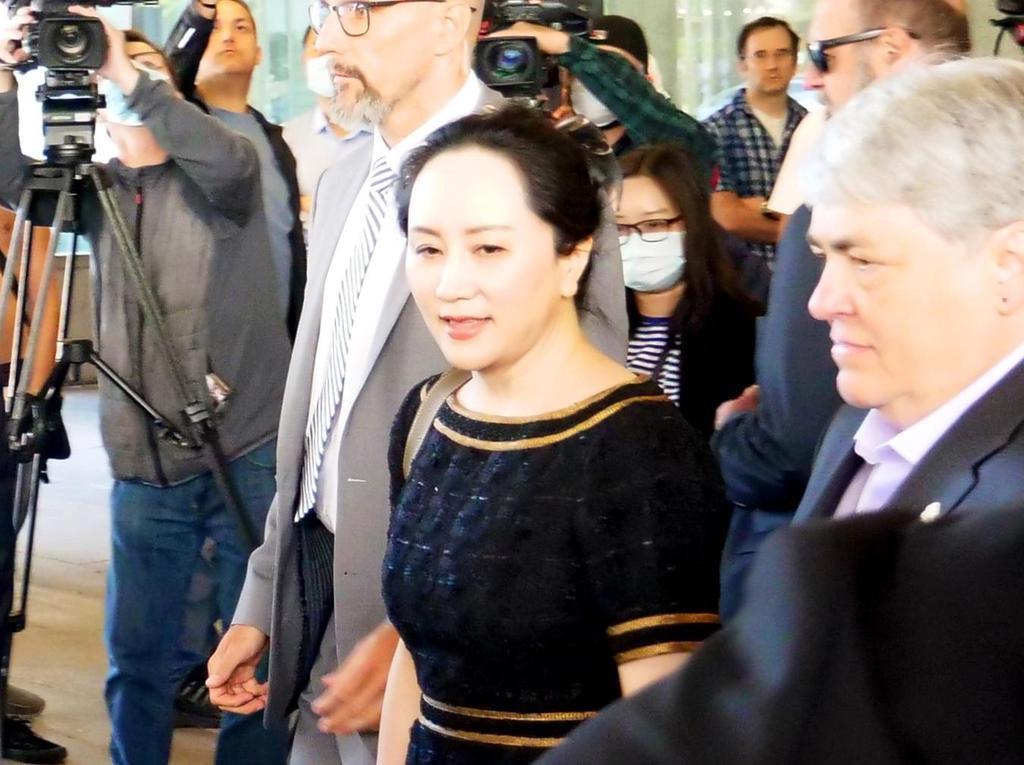 「カナダは米国の共犯者」 中国大使館がファーウェイ幹部審理を…