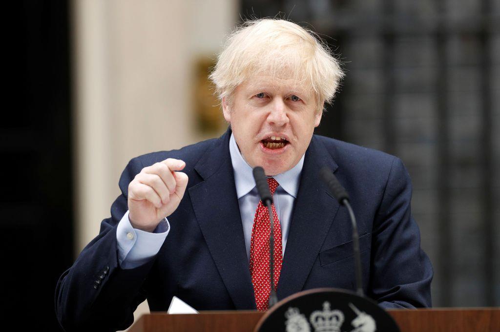英米首脳、中国批判 「香港自治を弱体化」