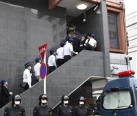 組幹部銃撃で家宅捜索 岡山県警、抗争とみて捜査