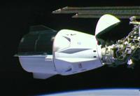 米有人宇宙船がISSに到着
