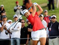 女子ゴルフの畑岡がコンサルタントのアビームと所属契約