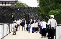 熊本城新見学通路を県民限定で公開、「県外」は19日から