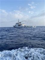 中国公船の漁船追尾で関連映像公開を示唆 沖縄北方担当相