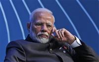 インド首相、G7拡大に前向き トランプ大統領と電話会談
