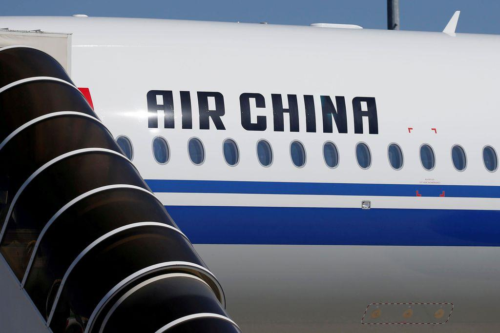 中国のフラッグ・キャリア「中国国際航空」の機体(ロイター)