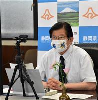 リニア問題 11日に静岡知事が現地視察 月内のJR東海とのトップ会談も視野