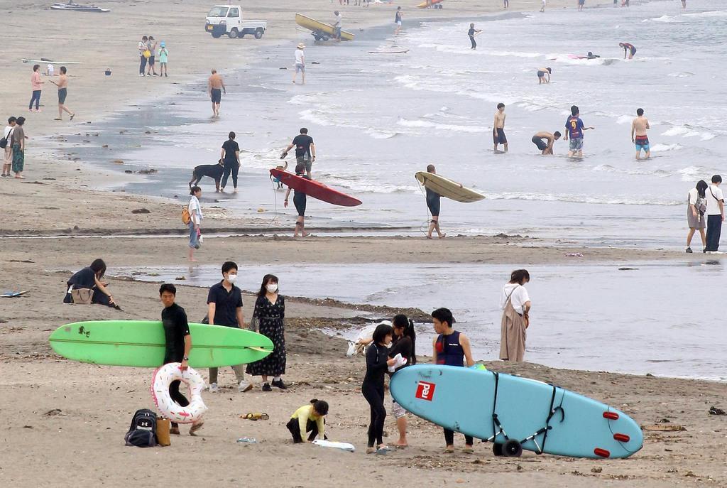 客は止められない? コロナ閉鎖続出の海水浴場…事故や管理懸念 - 産経ニュース