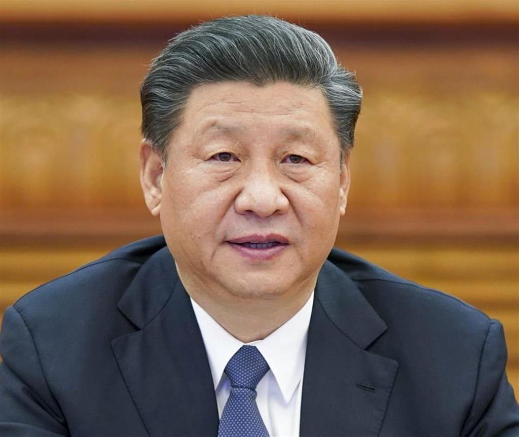 中国の習近平国家主席(新華社=共同)