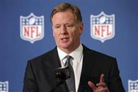 NFLコミッショナーが差別非難 「黒人選手なしでは成り立たない」