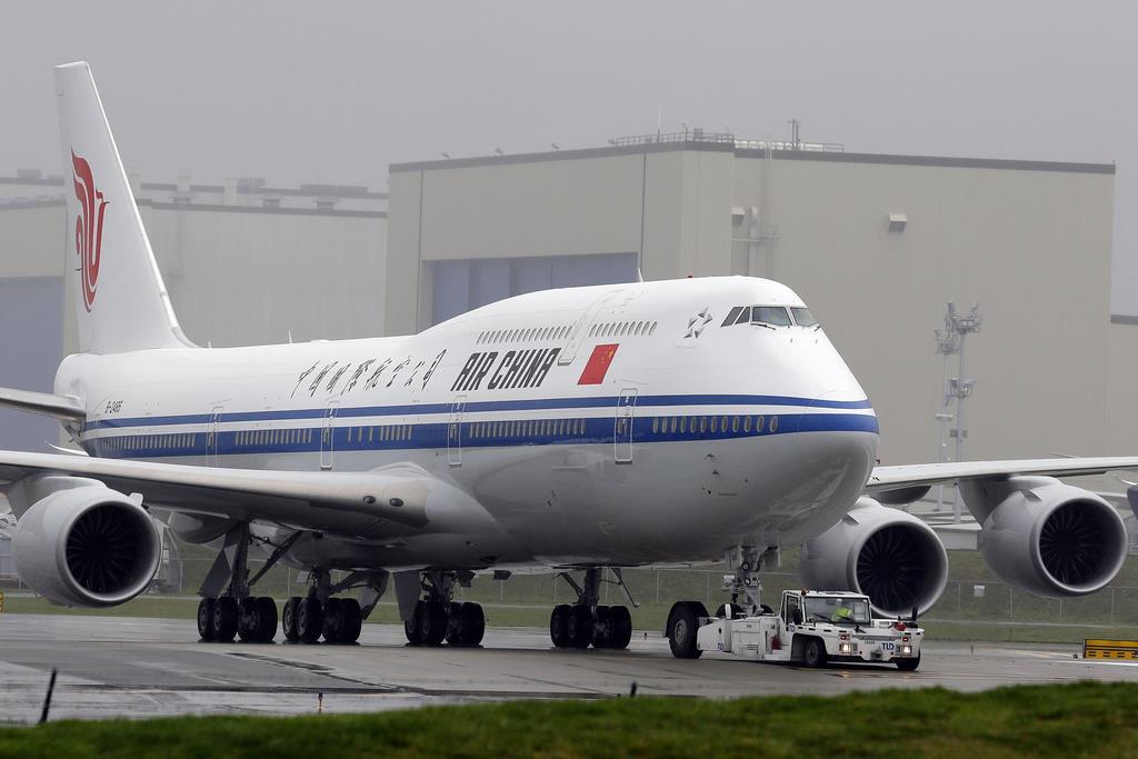 中国国際航空の機体(AP)