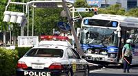 バスが信号に衝突9人搬送 千葉、運転手を逮捕