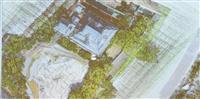 バーチャル岸和田城ミリ単位で再現、ドローンで3D計測