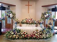 横田滋さん葬儀、川崎市内の教会で 遺影には笑み