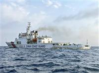 日本漁船追尾の中国公船、映像公開を検討 衛藤領土相