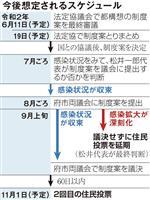 大阪都構想、制度案決定へ再始動 11日に法定協で最終審議