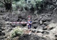 桜島噴火で火口から3キロまで噴石 34年ぶり 鹿児島