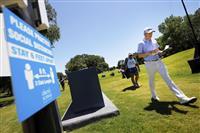 首位発進ローズ「まるで練習ラウンド」 再開の米男子ゴルフ