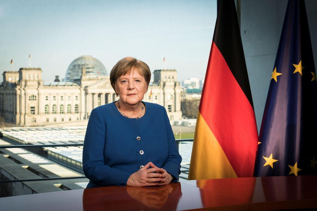 ドイツのメルケル首相=ベルリン(ロイター)