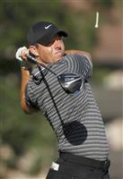 米男子ゴルフのマキロイ4位に浮上 無観客に「慣れてしまえば同じ」