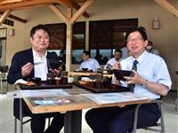 ふじのくに経済交流圏の形成を 静岡知事、山梨知事と合意