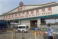 北京の卸売市場、2日間で発症者70人 集団感染、20万人検査へ