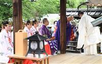 【動画】京都・八坂神社が祇園御霊会 発祥の地、神泉苑と神仏合同でコロナ終息祈願